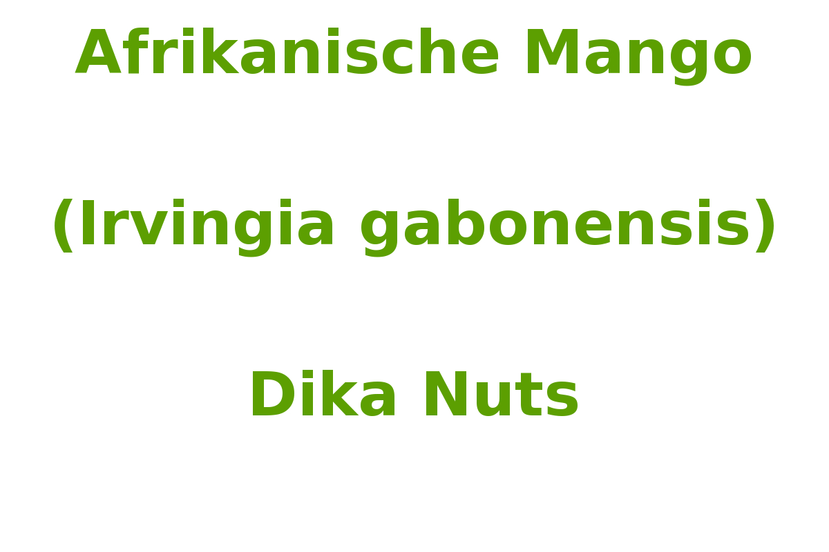 afrikanische mango irvingia gabonensis. Black Bedroom Furniture Sets. Home Design Ideas