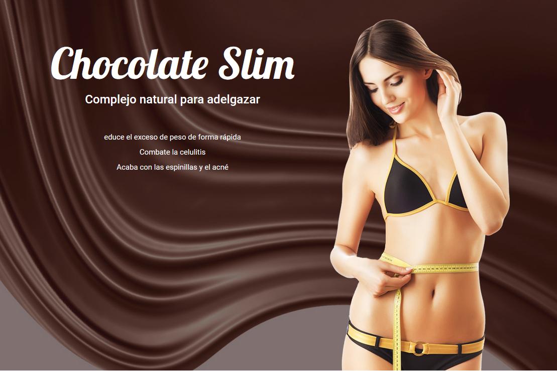 Pastillas para adelgazar chocolate slim