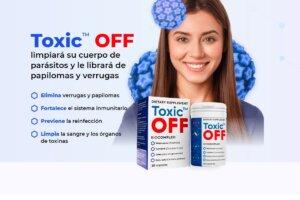 Toxic OFF - Limpiará su cuerpo de parásitos y le librará de papilomas y verrugas