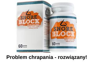 SnoreBlock problem chrapania rozwiazany