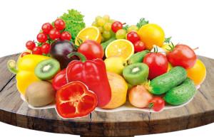 Witaminy w warzywach i owocach