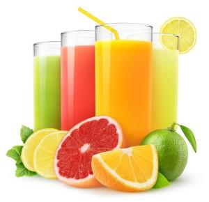 soki z owoców cytrusowych