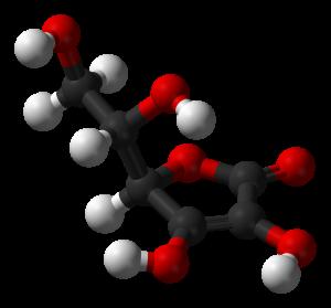 L-ascorbic acid 3D