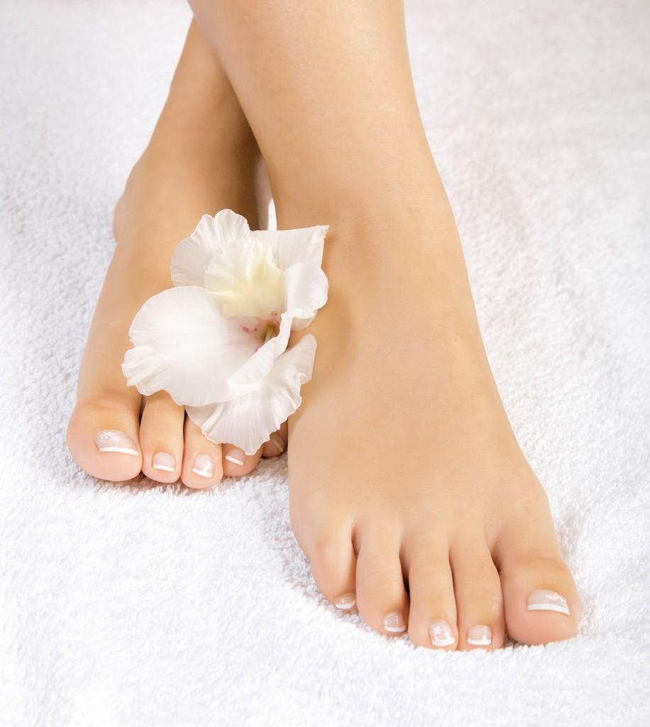 Piękne zdrowe stopy