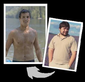 Kacper Miętus, 27lat - 12kg w 3 miesiące