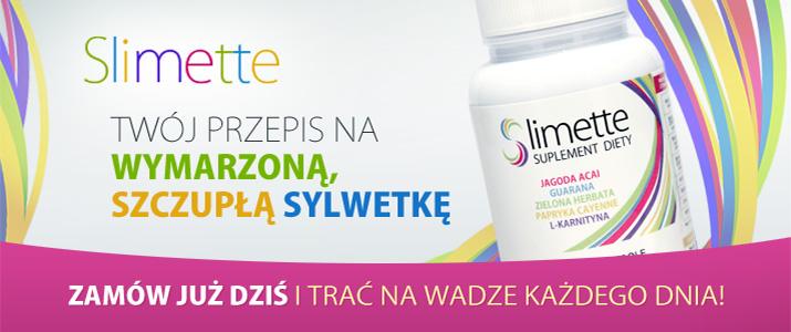 Slimette - Twój przepis na wymarzoną szczupłą sylwetkę