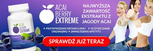 ACAI BERRY EXTREME - Najwyższa zawartość ekstraktu z Jagody Acai