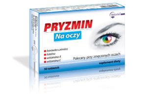PRYZMIN Na oczy - Borówka z luteiną A + E, 30 tabletek