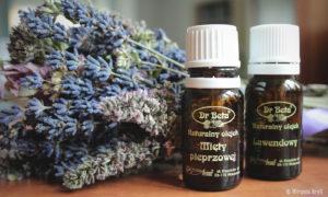 Olejki eteryczne na ból gardła