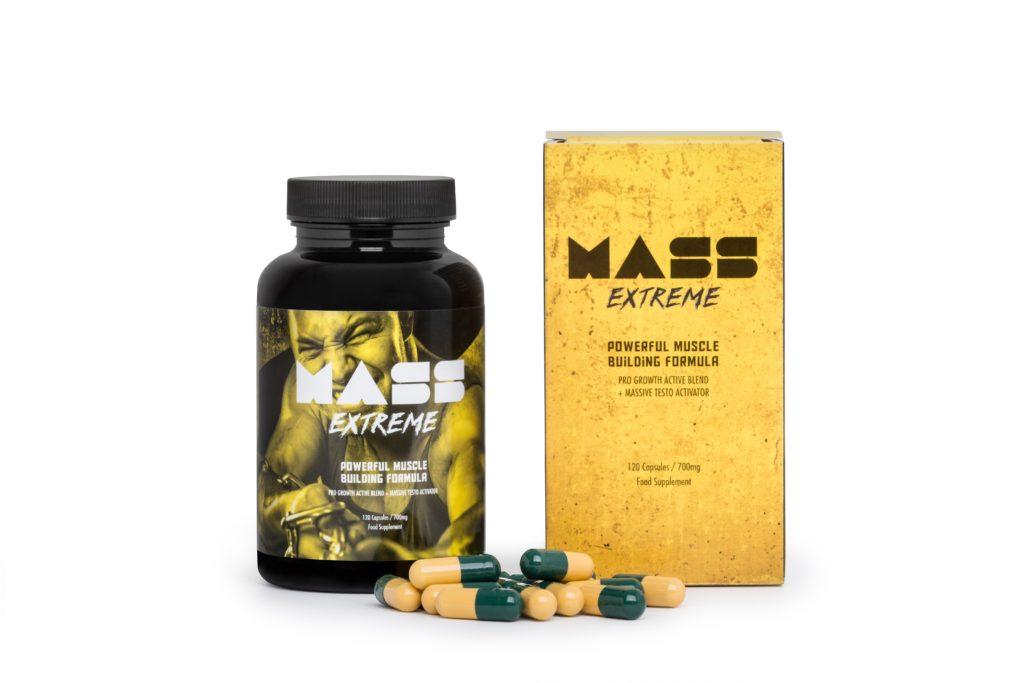 Mass Extreme ™ - szybkie budowanie masy mięśniowej
