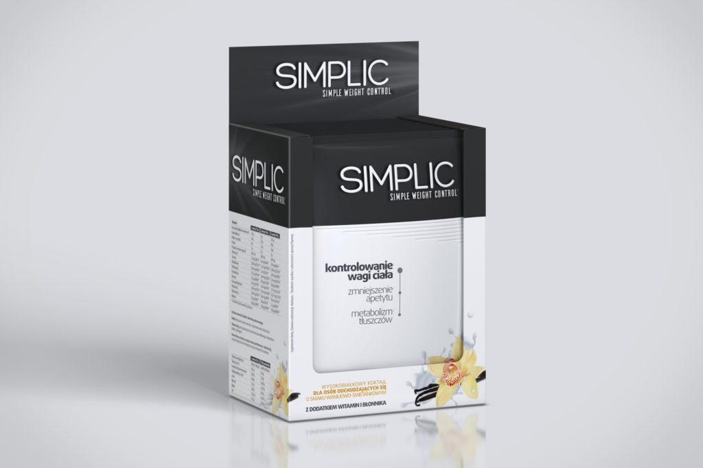 SIMPLIC ™ - koktail o smaku waniliowo - śmietankowym
