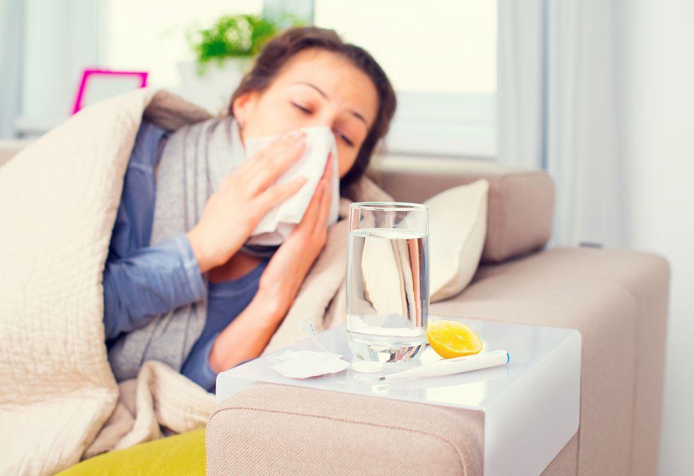 Kobieta - przeziębienie