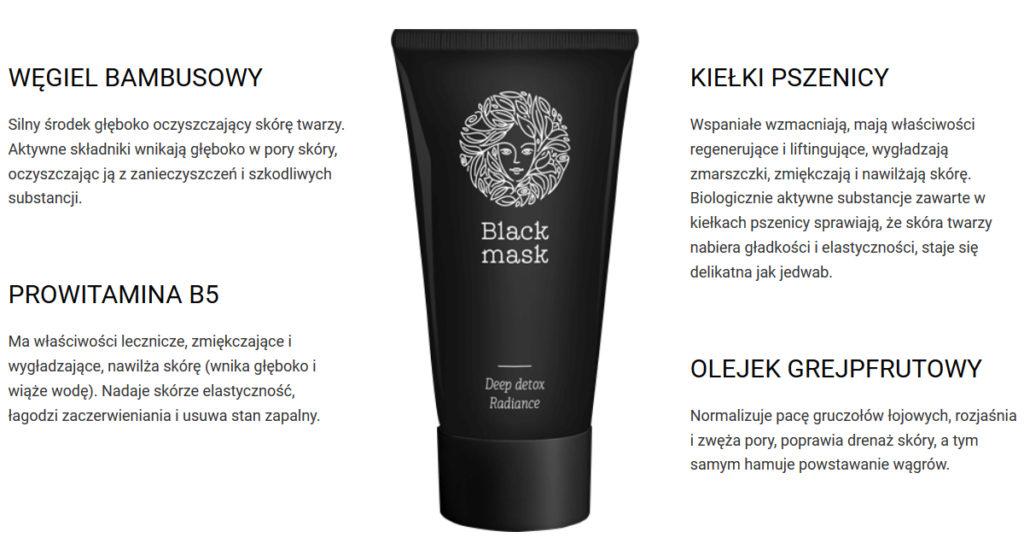 Black Mask - najważniejsze składniki