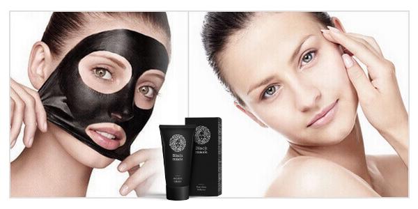 Maseczka Black Mask - Oczyszczanie twarzy