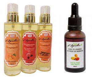 Olej arganowy i z pestek opuncji figowej