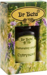Dr Beta, olejek cytrynowy w opakowaniu