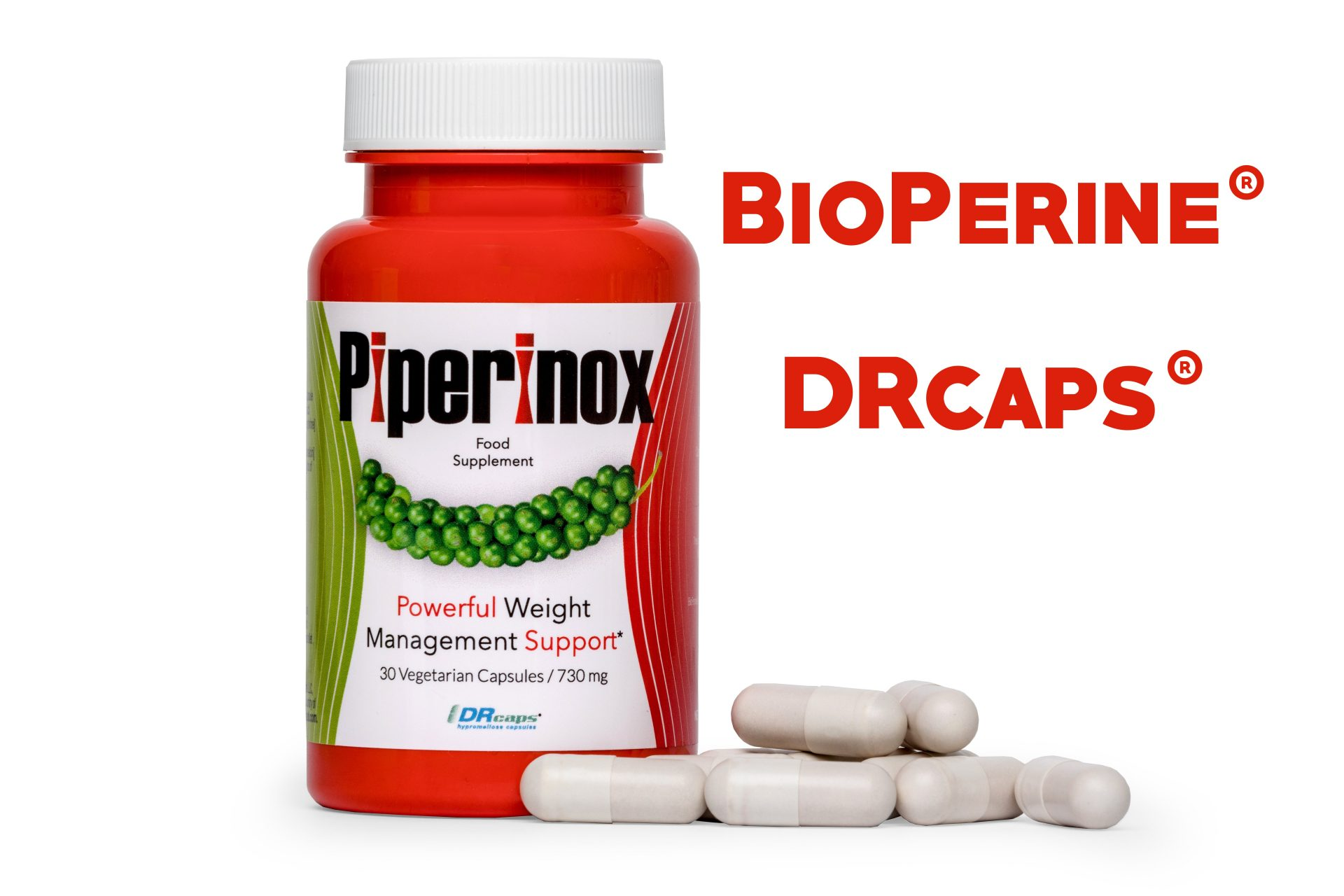Piperinox w kapsułce DRcaps®