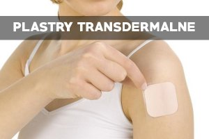 Plastry transdermalne