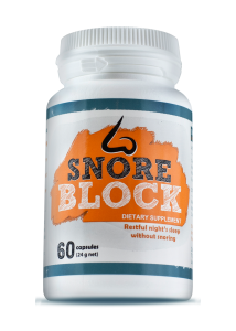 SNORE BLOCK ™ – Tablets against snoring