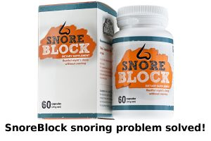 Over-the-counter tablets against snoring