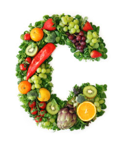 Vitamin C in vegetables and fruits