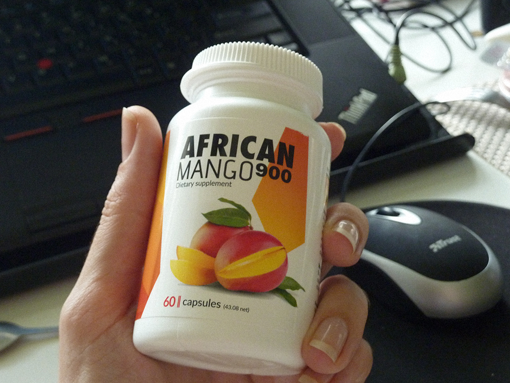 African Mango Max 900 real