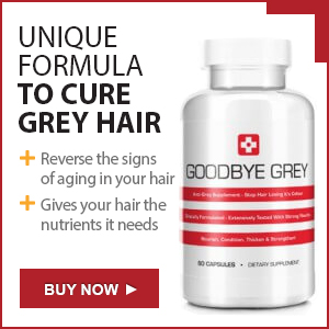 Goodbye Grey ™ - Unique formula to cure grey hair - Buy Now