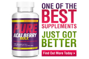 Pure Acai Berry Max™ – Weight Loss Pills – Benefits