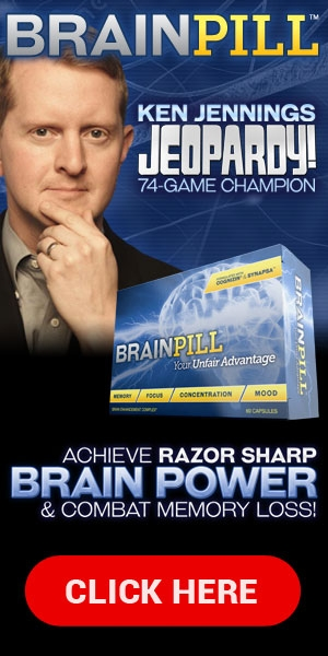 Brain Pill ™ - Ken Jennings Jeopardy!