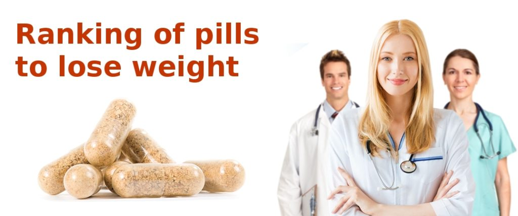 Ranking of pills to lose weight