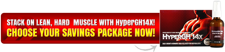 Stack on lean, hard muscle with HyperGH 14x!