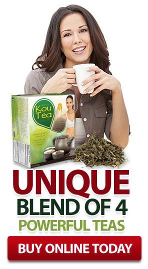 KouTea ™ - Unique blend of 4 powerful teas