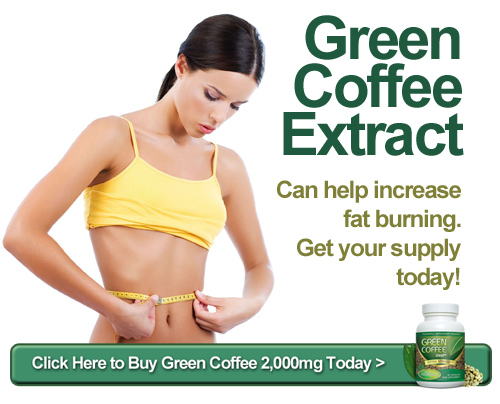 Green Coffe Extract - Svetol® can help increase fat burning