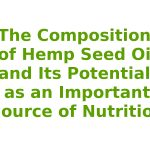 The Composition of Hemp Seed Oil and Its Potential as an Important Source of Nutrition