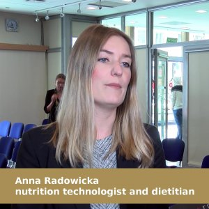 Anna Radowicka, nutrition technologist and dietitian