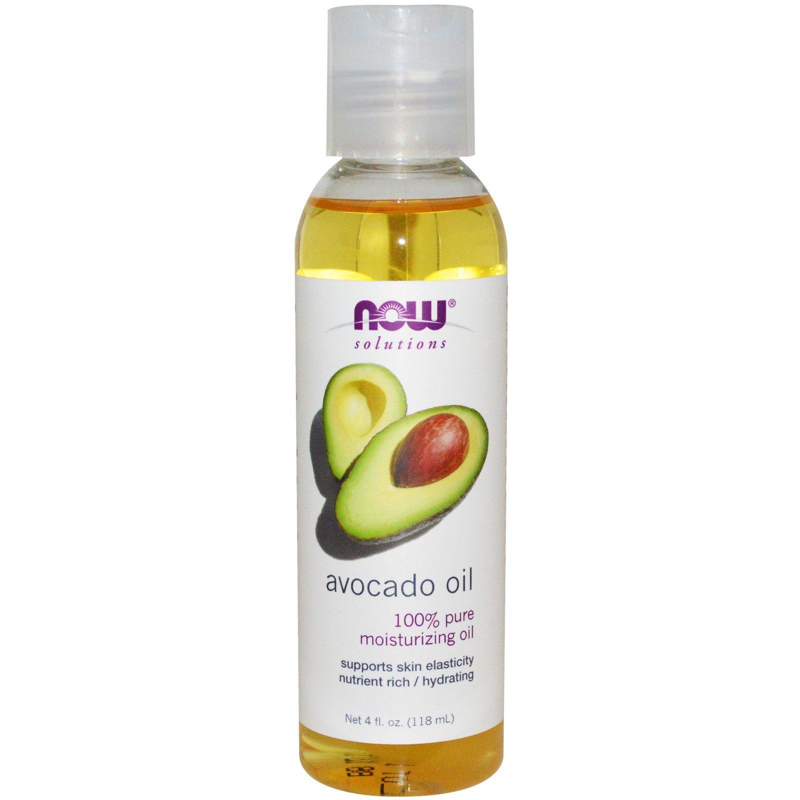 Now – Solutions, Avocado Oil, 4 fl oz (118 ml)