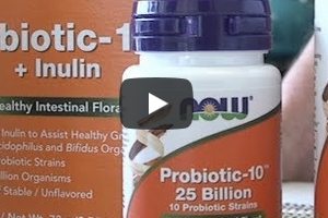 Now – Probiotic-10, 25 Billion, 50 Veg Capsules