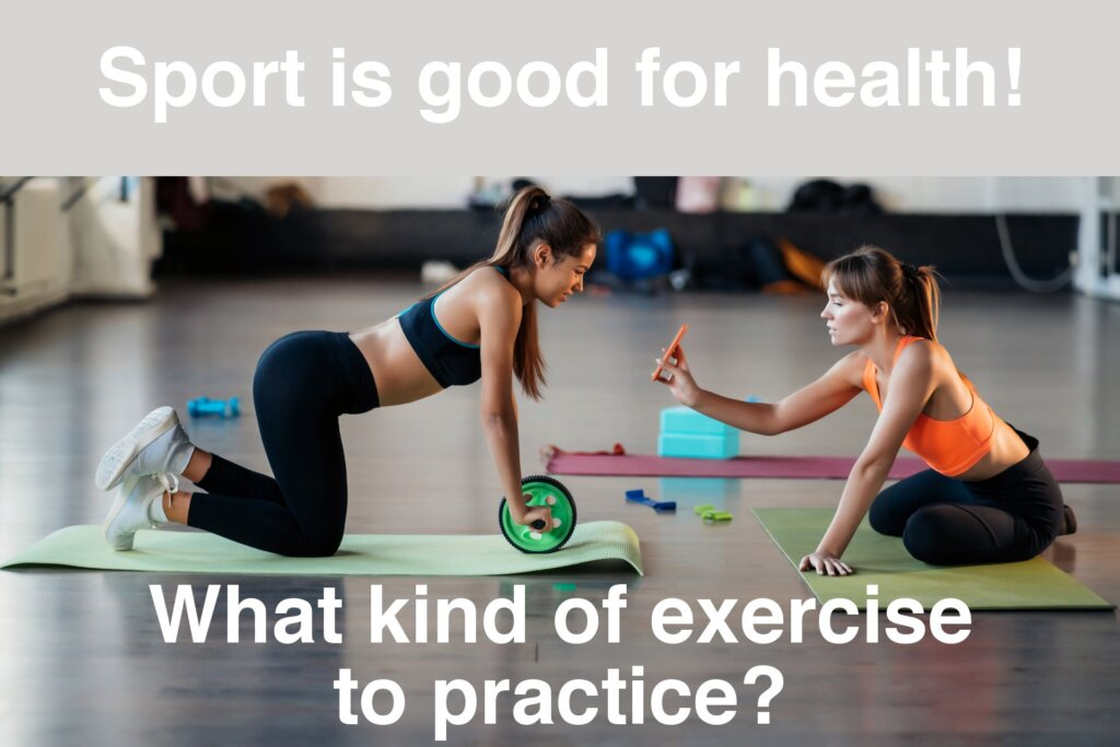 Sport is good for health
